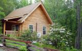 Holiday Home North Carolina Fishing: Cedar Log Cabin - Cabin Rental Listing ...
