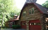 Holiday Home Pennsylvania Fernseher: Poconos Upscale Luxury Log Home On 3 ...