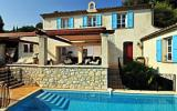 Holiday Home France Cd-Player: Villa L'oliveraie - Luxury On The Top Of Vence